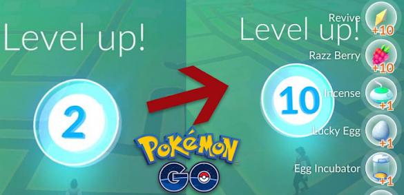 Cara Mudah Menaikkan Level Pokemon Go Dengan Cepat
