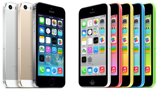 Get a discount on the iPhone 5S and iPhone 5C when you purchase from Walmart