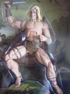 Marvel Legends Universe SDCC Limited Edition The Savage Land pack X-men Ka-zar Shanna Zabu Prehistoric Mutants Mutations