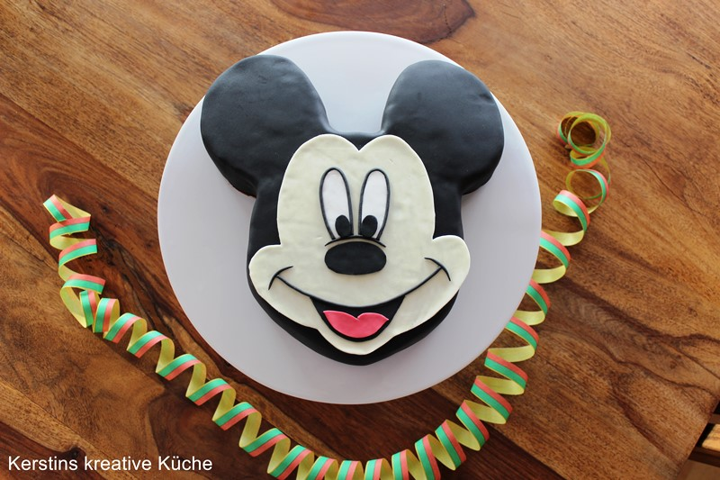 Kerstins Kreative Kuche Micky Maus Kuchen