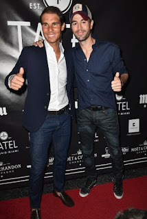 Photos: Rafael Nadal and Enrique Iglesias at the Grand Opening Celebration of TATEL Miami