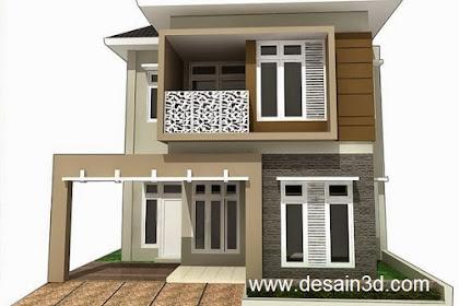 Desain Revisi Tampak Rumah belum di bayar Lunas