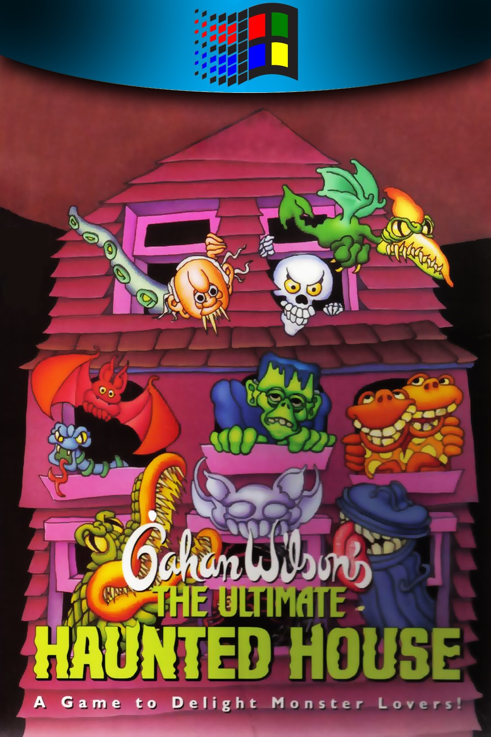 The Collection Chamber: GAHAN WILSON'S ULTIMATE HAUNTED HOUSE