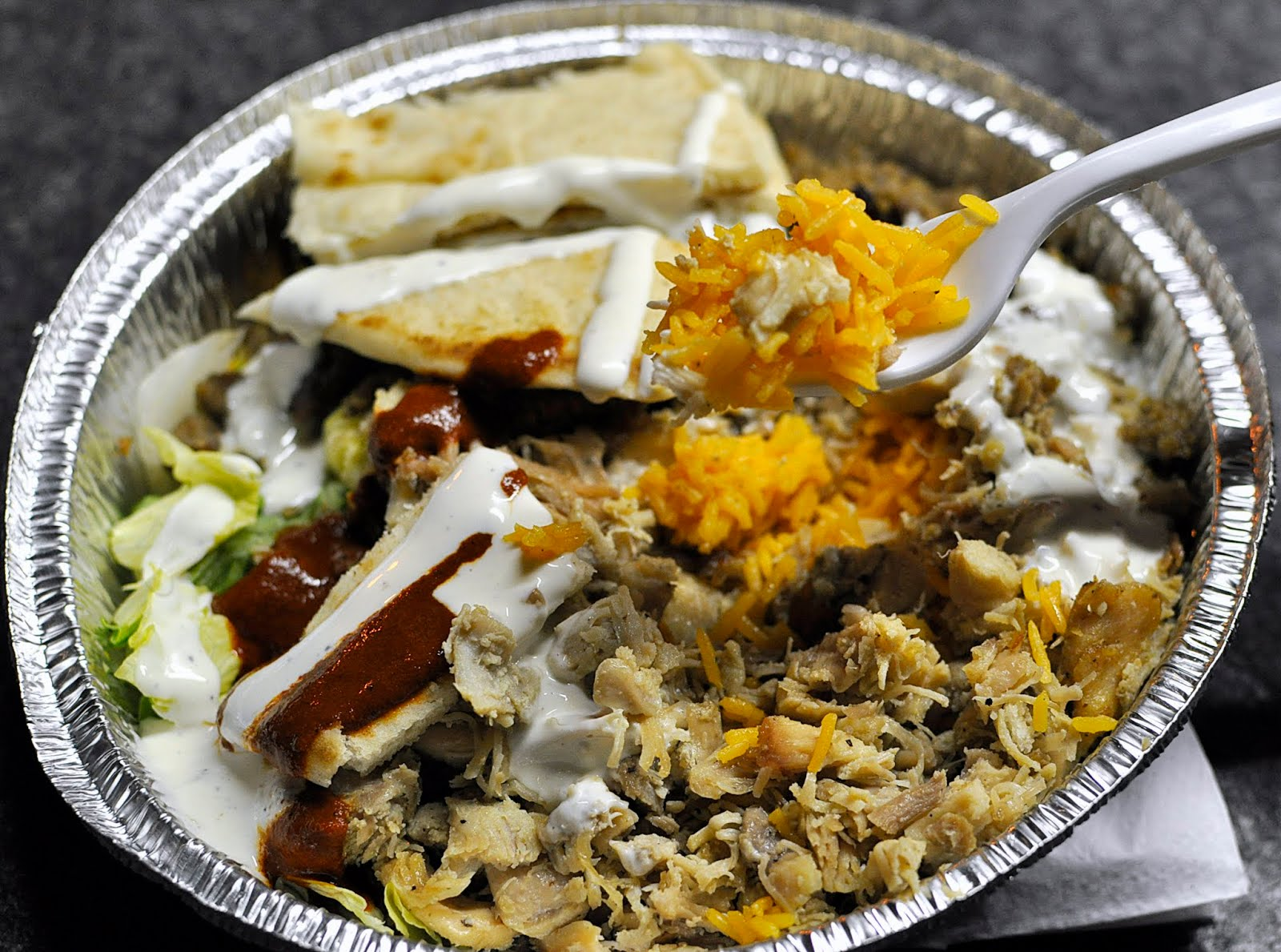 What Is The White Sauce From Halal Food Truck