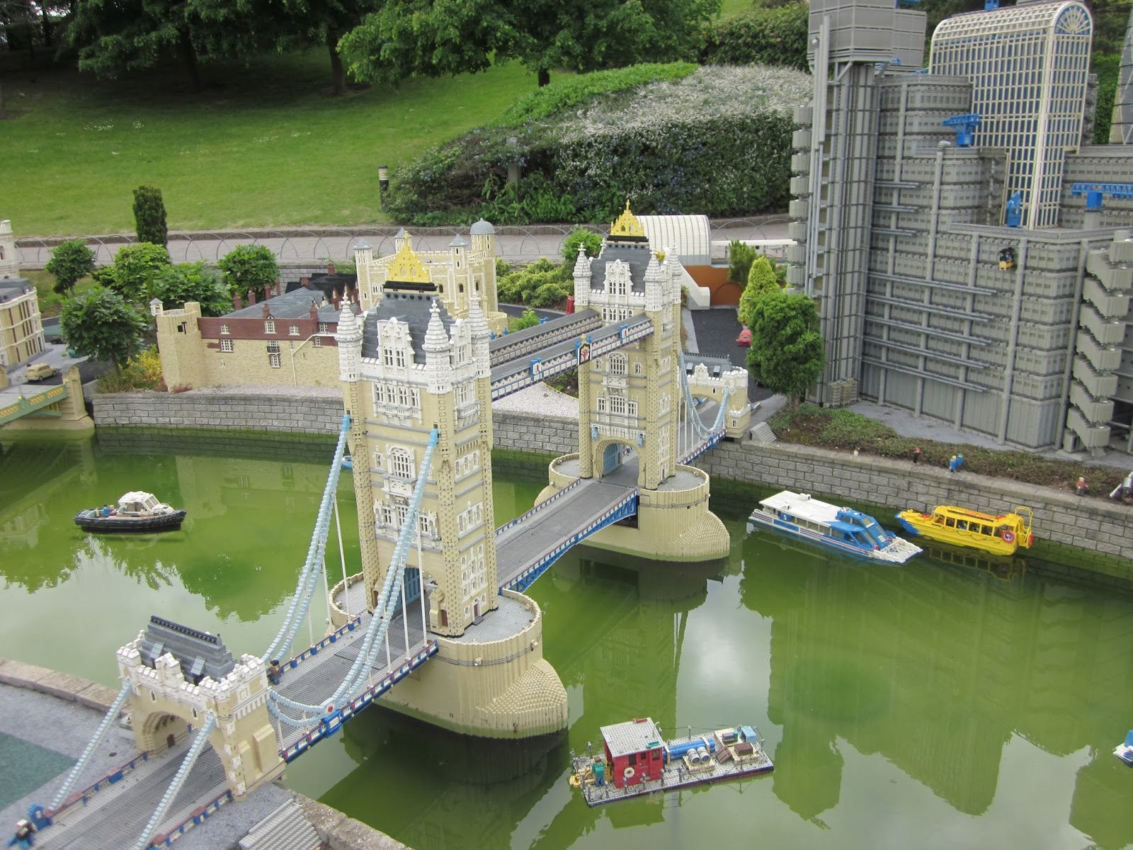 A Punt on the Cam and a Day at Legoland   Travel Blog