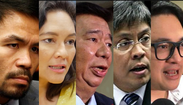 Pacquiao knocks out Kiko, Risa and Bam in committee chairmanship