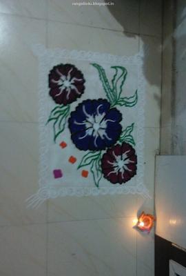 Rangolis for Makar Sankranti