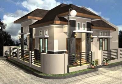 desain rumah minimalis modern 2 lantai hook terbaru