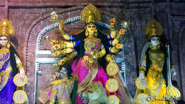 Durga Puja 2018 Sree Bhumi Sporting Club Durga Idol