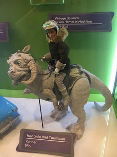 Han Solo and Tauntaun figures at the Children's Museum