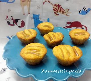 Muffin con ricotta e mele
