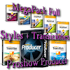MegaPack Full Styles + Transiciones para Proshow Producer