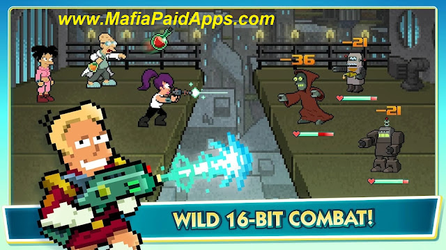 Futurama Worlds of Tomorrow Apk Mod (Free Store) MafiaPaidApps