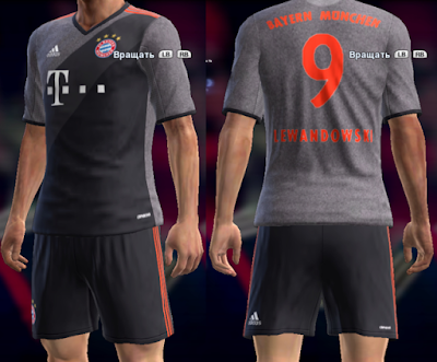 PES 2013 Bayern Munich Away Kit Season 2016/17