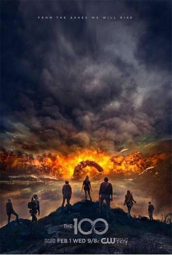 The 100 Temporada 4 Completa HD 720p Latino