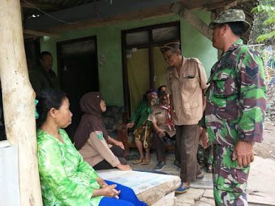 Veteran Pandu - Pramuka Kota Mojokerto Kunjungi Lokasi TMMD Desa Jembul