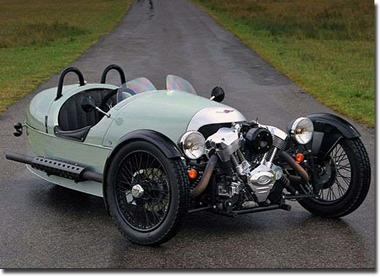 Motos mais bizarras do mundo - Morgan Three-Wheeler