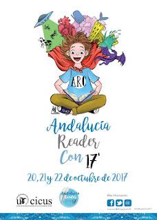 Cartel oficial de la Andalucía Reader Con 2017