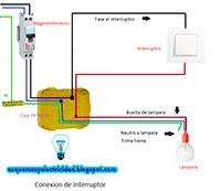Conexion de interruptor
