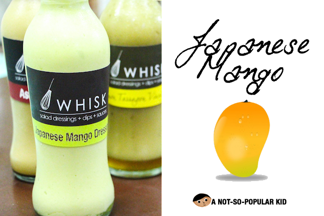 Whisk's Japanese Mango Dressing - Thick with a hint of spiciness!