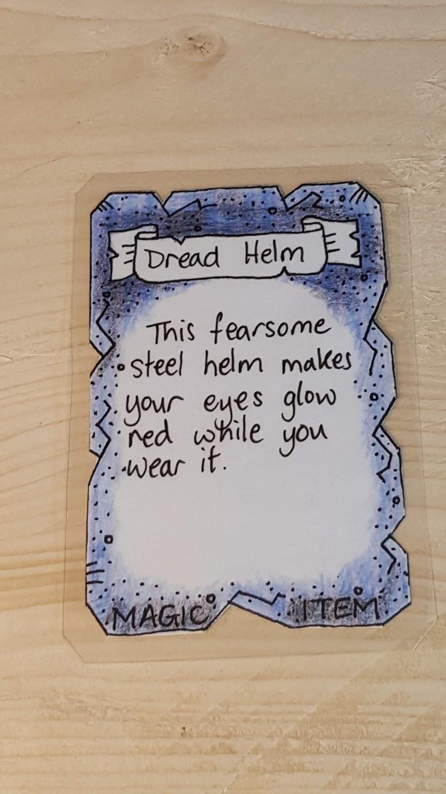 Daxio's Uneventful Day: D&D 5e: Magic Item cards