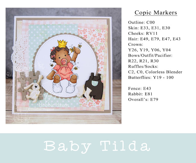 Heather's Hobbie Haven - Baby Tilda Card Kit