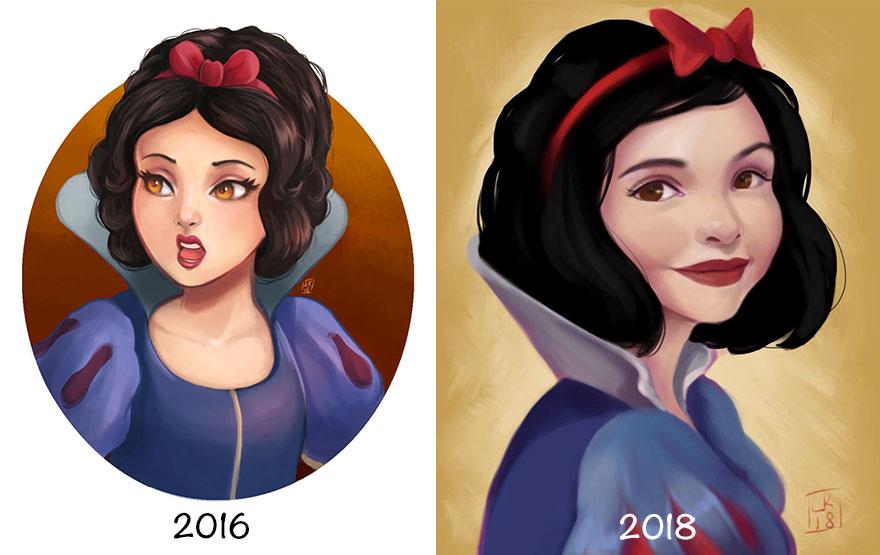 Princess-disney-ilustração-due-anni-di-pratica-08