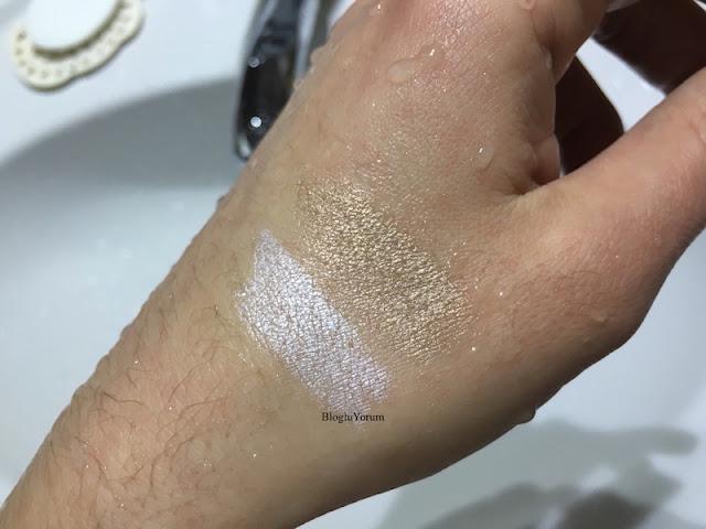 golden rose eyeshadow crayon waterproof 01 golden rose glitter eyeshadow crayon waterproof 57 swatches 7