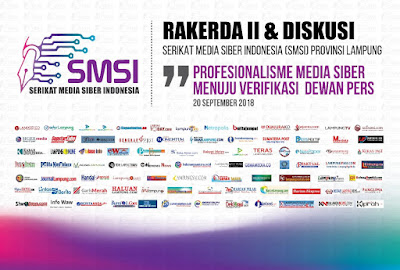 SMSI Lampung Gelar Rakerda II