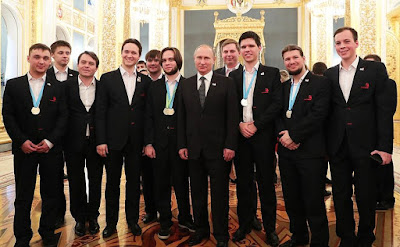 Meeting with members ofWorldSkills-Russia national team.