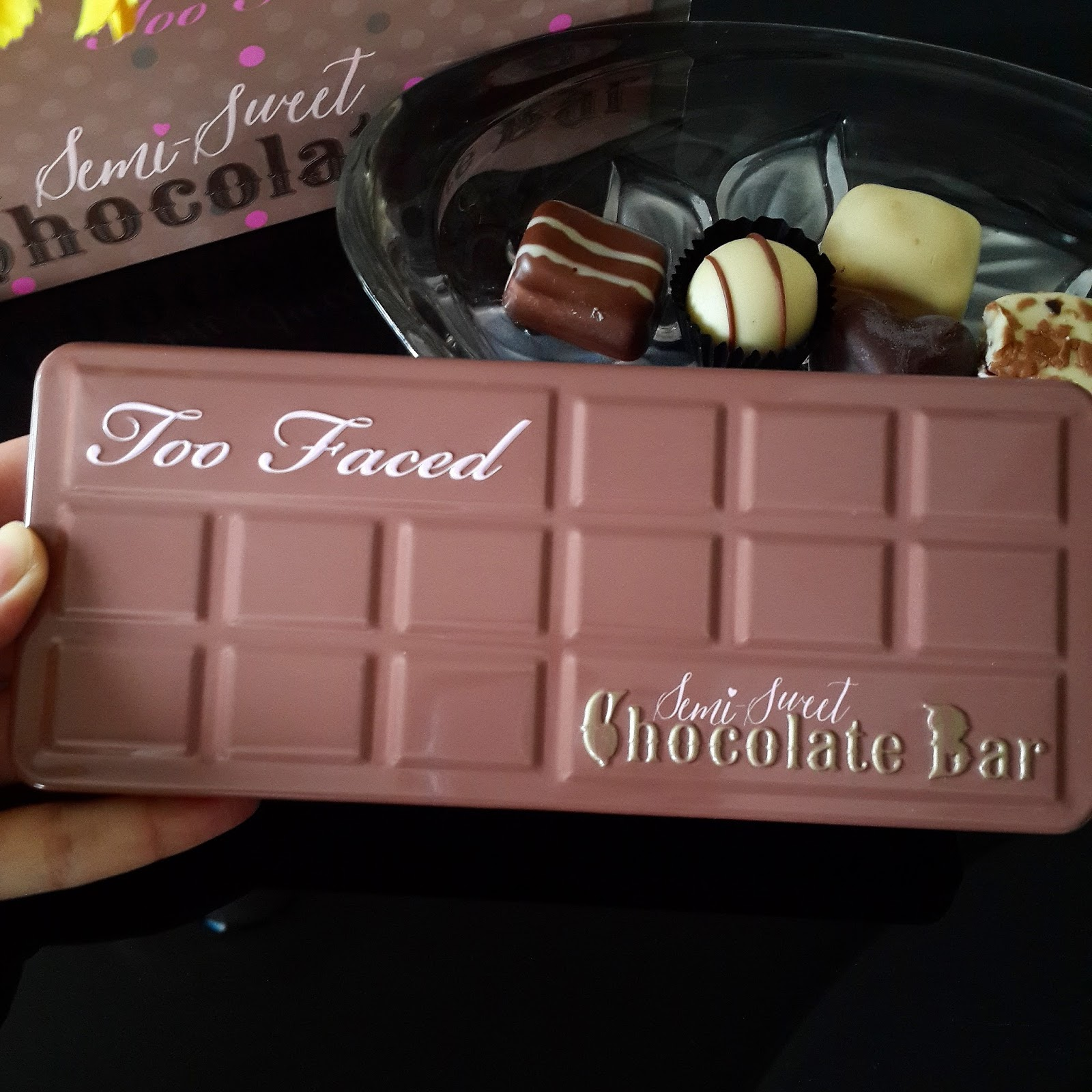 Ridzi Makeup Too Faced Semi Sweet Chocolate Palette Review
