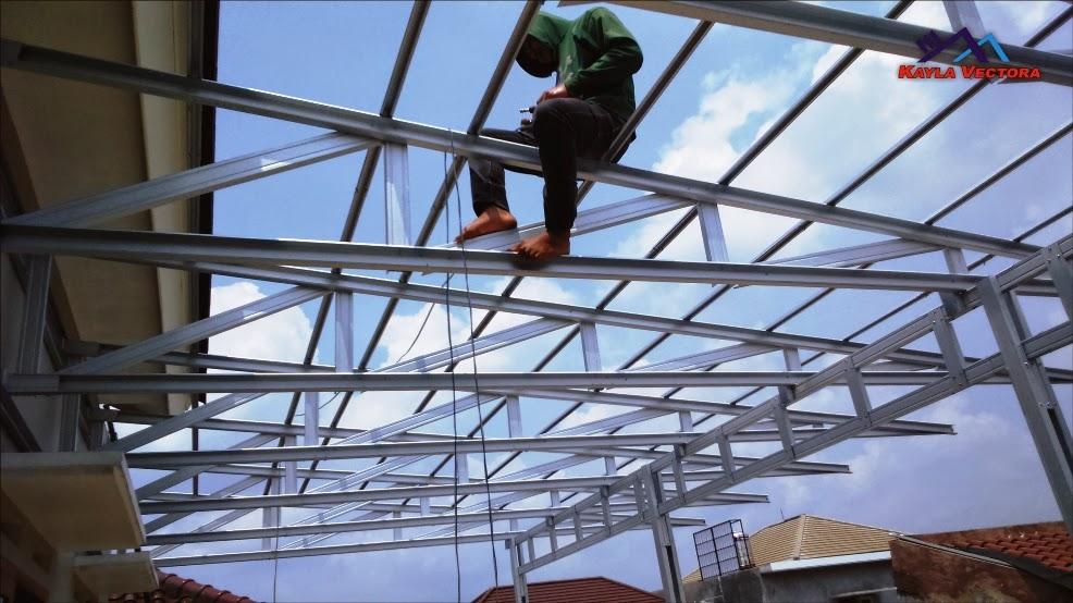 kanopi baja ringan taso atap semarang: bajaringan