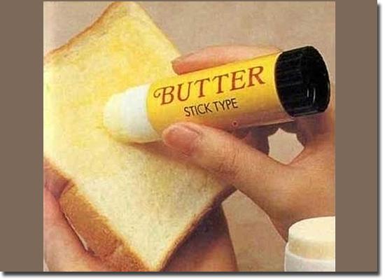 Invenções Bizarras - Manteiga em Bastão
