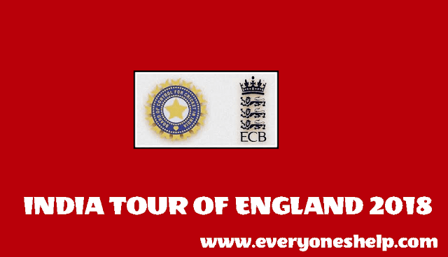 India- Tour Of- England 2018