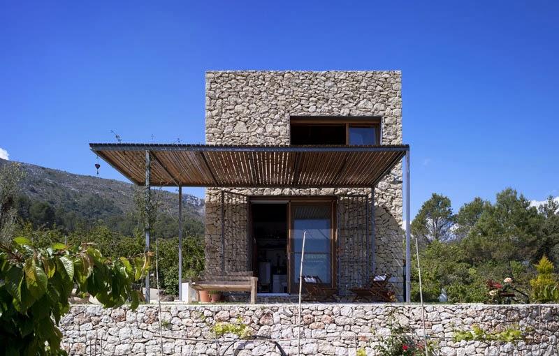 Arquitectura en piedra for Como construir una casa de piedra