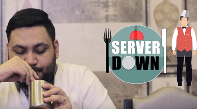 Server Down | Types of People At A Restaurant