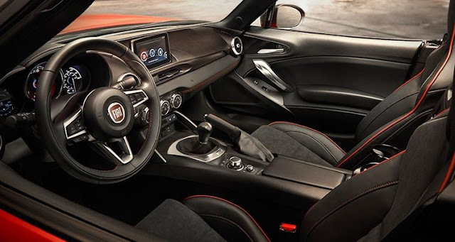 2017 interior Fiat 124 Spider Manual