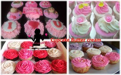 Harga Cupcake Butter cream Sidoarjo Surabaya