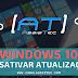 Desativar as atualizações no Windows 10