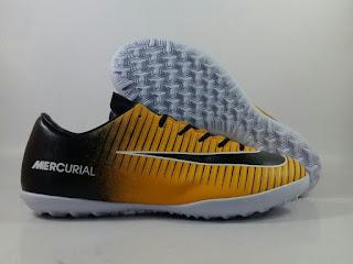 jual sepatu futsal Nike Mercurial Victory 6 TF - Orange Black