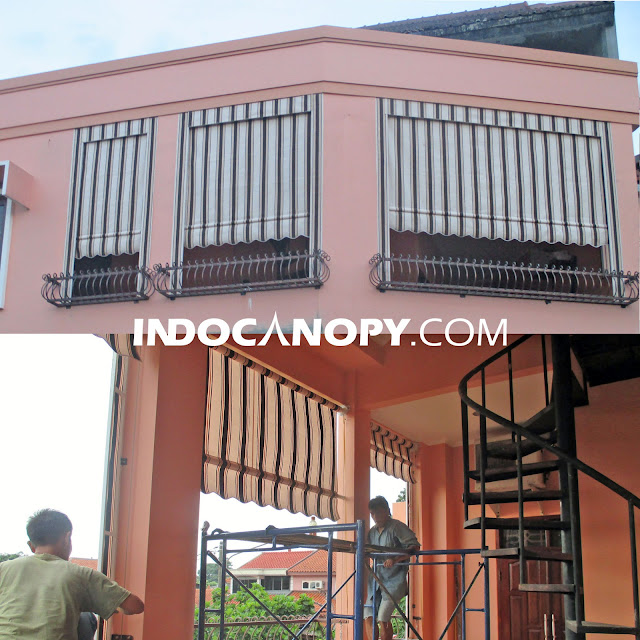 vertical awning retractable indonesia