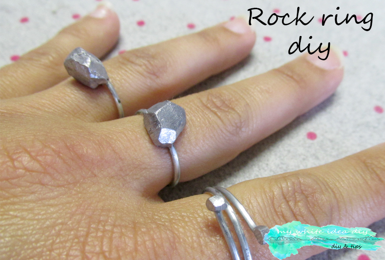 ROCK RING DIY