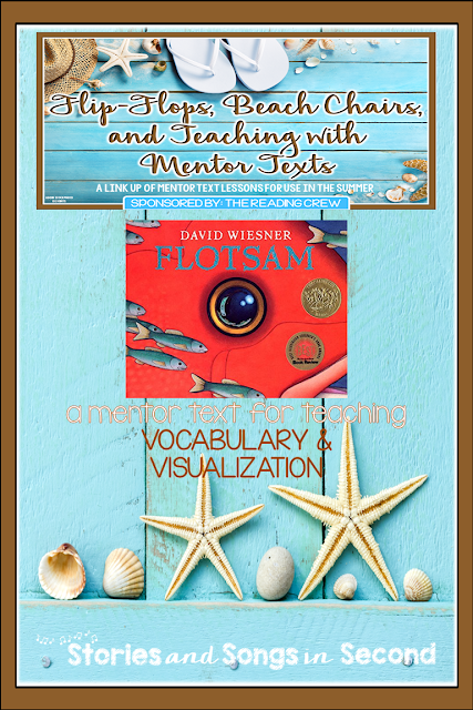 David Wiesner's FLOTSAM is a great mentor text to use as you help students expand their ocean vocabulary and visualize their thinking about word meaning. Free Mind Maps and a creative writing booklet are included, along with picture clue cards.