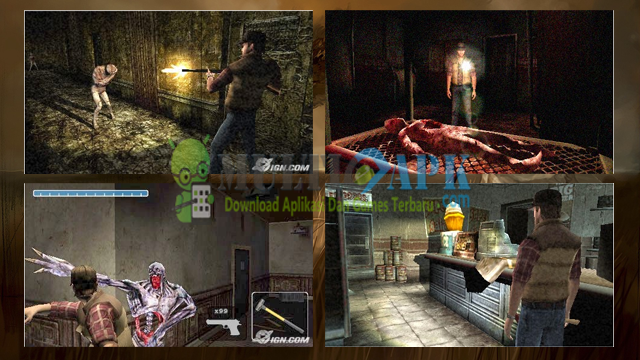 Game Silent Hill Origins ISO High Compress PPSSPP For Android