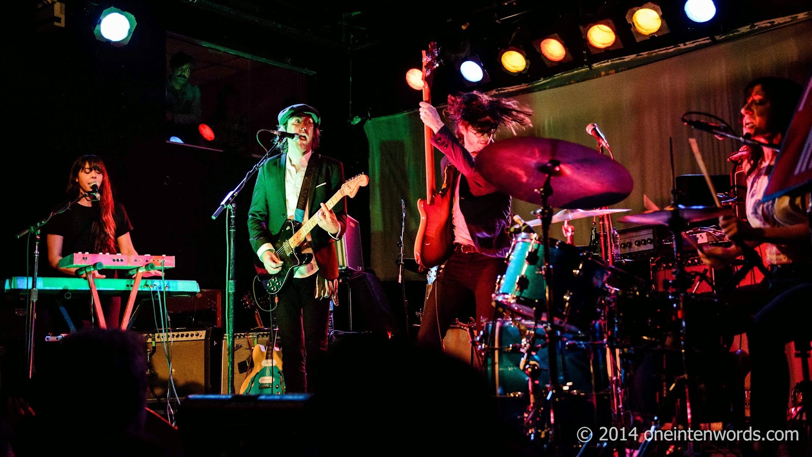 The Golden Dogs at Lee's Palace in Toronto September 27, 2014 Photo by John at One In Ten Words oneintenwords.com one in ten words toronto indie alternative music blog concert photography pictures