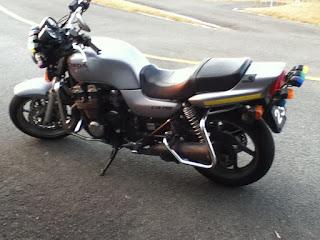 教習バイクホンダCB750