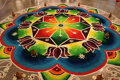 Happy Diwali Rangoli Images 2018