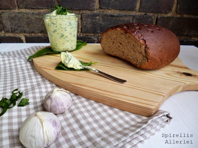 Spirellis Allerlei - Bärlauchbutter einfach selbstgemacht, Butter mit Baerlauch