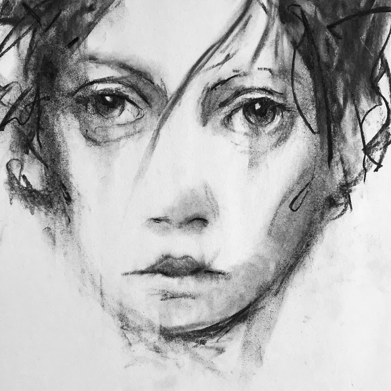 Faces Drawings by Patrick Greenwell from Santa Fe, New Mexico, USA.