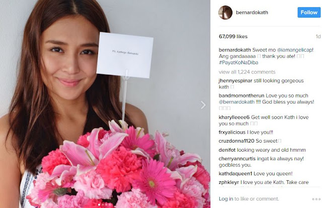 Kathryn Bernardo Gets a Bouquet of Flowers From Another Kapamilya Star! Who Could it Be? FIND OUT HERE!